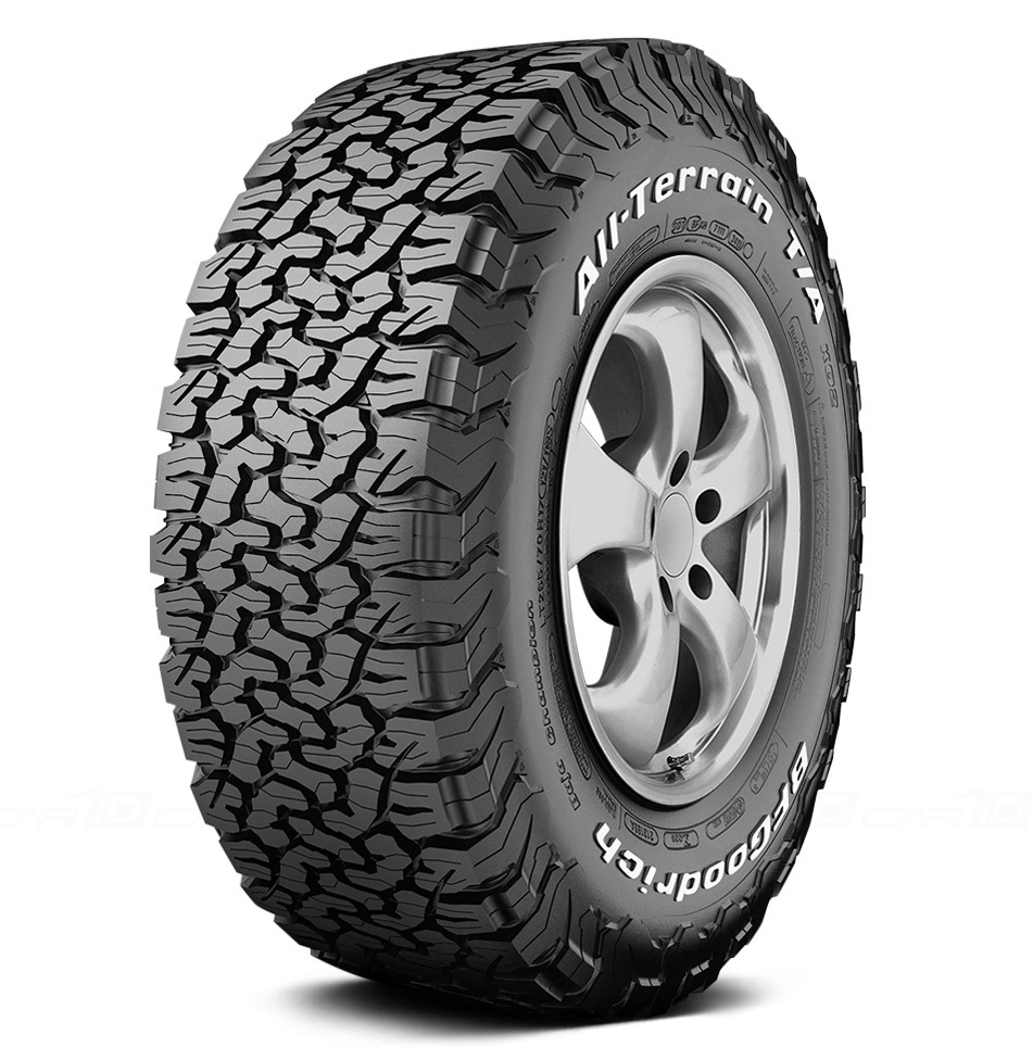 Шины BF Goodrich All Terrain T/A KO2 265/60 R18 119/116S